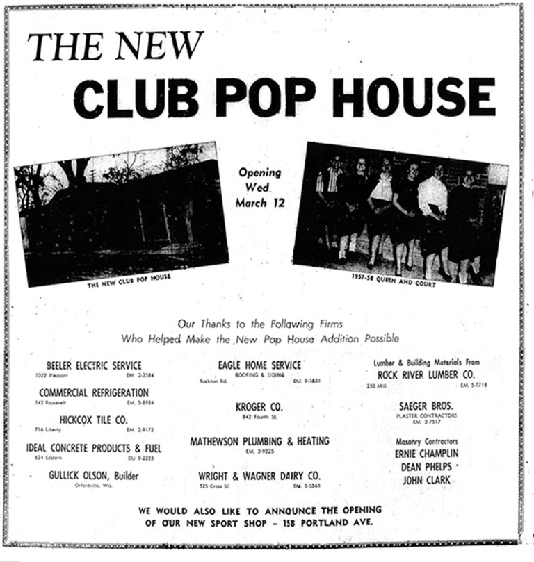 1958 Pop House Ad