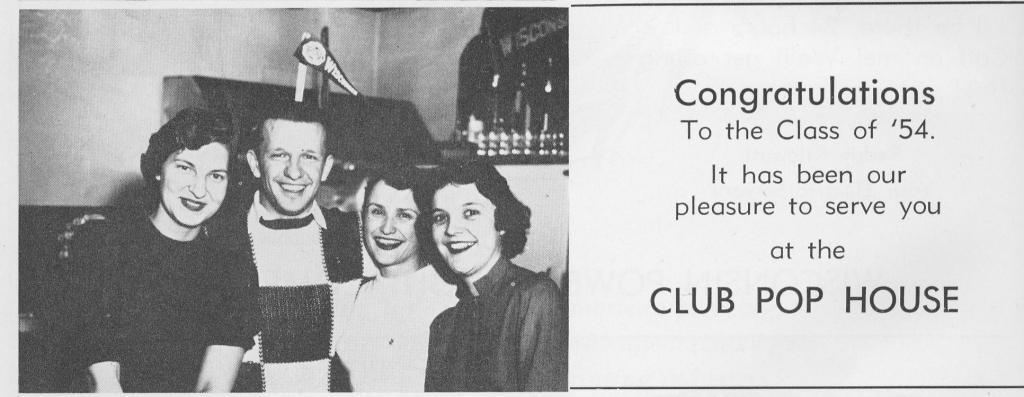 "1954 Beloit College ""Gold"" ad"