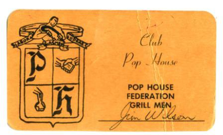 Pop House Grillmen Card